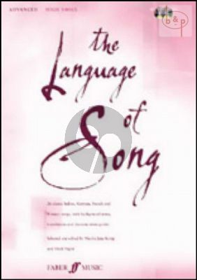 The Language of Song (26 Classic Italian-German- French and Russian Songs) (Advanced) (High)