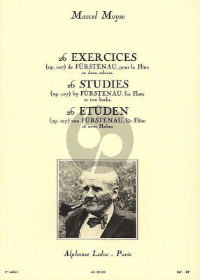Moyse 26 Exercises de Furstenau Op.107 Vol.1 Flute
