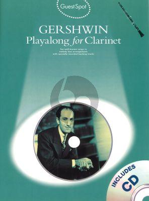 Guest Spot Gershwin Playalong for Clarinet (Bk-Cd)