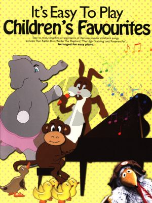 Album It's Easy To Play Children's Favourites for Piano (with Lyrics)