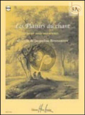 Plaisirs du Chant Vol.3A (Medium Voice)