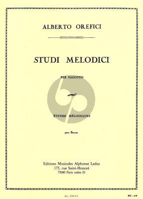 Etudes Melodiques pour Basson