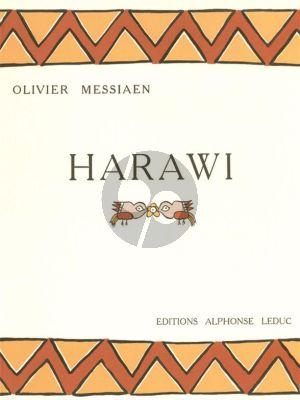 Messiaen Harawi (Chant d'Amour et de Mort) (Voix Elevees)