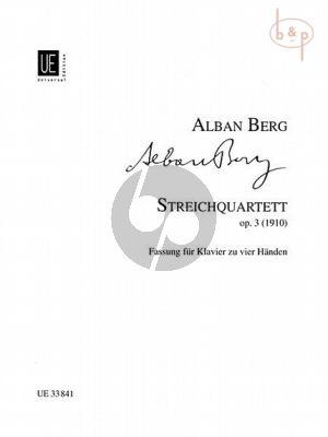 Stringquartett Op.3 (1910)