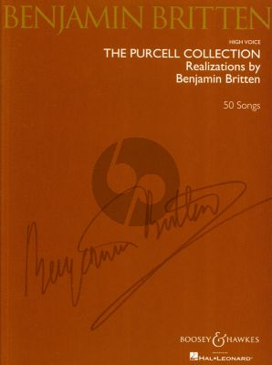 Purcell Collection (50 Songs) High Voice-Piano (Realizations by Benjamin Britten)
