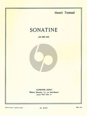 Tomasi Sonatine Flute solo