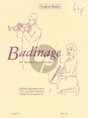 Badinage Trompette C ou Bb et Piano