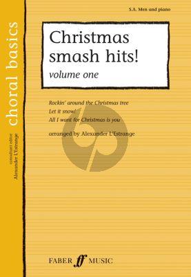 Christmas Smash Hits Vol.1 (SA-Men-Piano) (arr. Alexander L'Estrange)