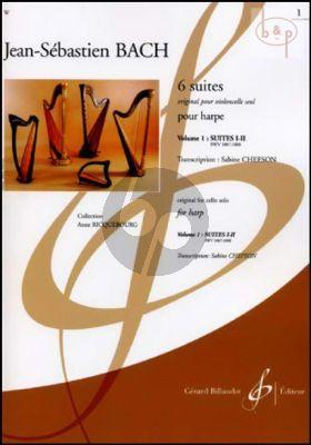 6 Suites Vol.1 (Suite 1 - 2 BWV 1007 - 1008) (orig. Violoncello)