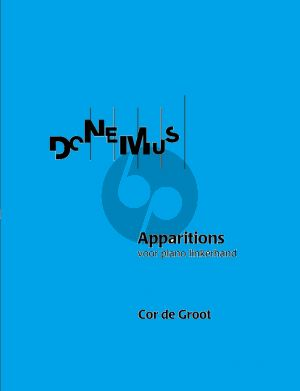 Groot Apparitions (1960) (Piano Linkerhand / Piano Left Hand) (or Piano 2 Hands)