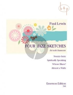 4 Jazz Sketches Bassoon Solo