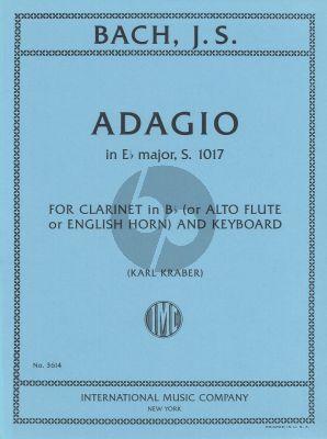 J.S. Bach Adagio E-flat major BWV 1017 Clarinet-Piano (Alto Flute/Engl.Horn) (arr. Karl Kraber)