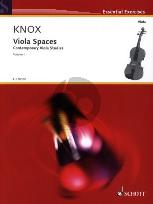 Knox Viola Spaces Vol.1 (Contemporary Viola Studies)