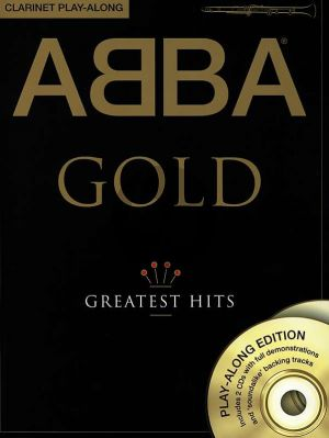 Abba Gold Greatest Hits for Clarinet (Book with 2 Cd's)