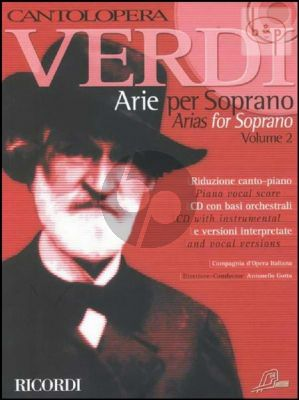 Arias for Soprano Vol.2 (Voice-Piano)