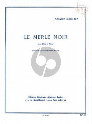 Messiaen Le Merle Noir Flute-Piano