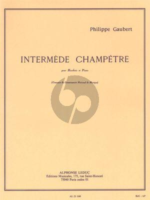 Gaubert Intermede Champetre Hautbois et Piano
