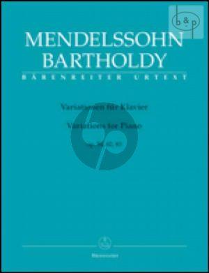 Variations Op.54 - 82 - 83