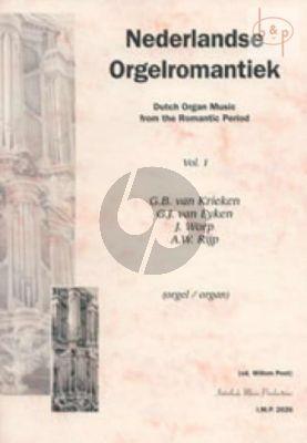 Nederlandse Orgelromantiek Vol.1