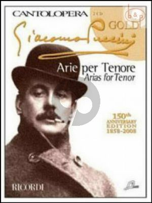 Arias for Tenor (Voice-Piano) (Bk-Cd)