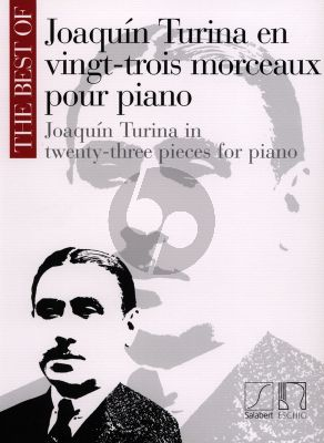 Turina The Best of Turina for Piano Solo (23 Pieces)