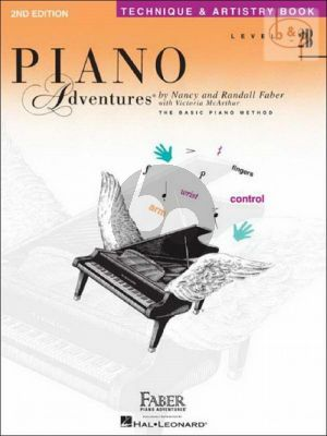 Piano Adventures Technique & Artistry Level 2B