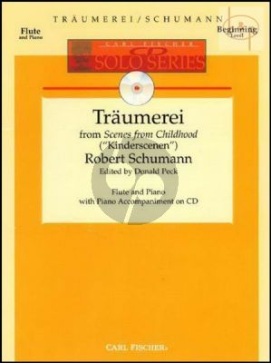 Traumerei Op.15 No.7 (from Scenes of Childhood) (Flute-Piano) (Bk-Cd)