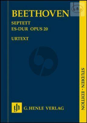 Septet E-flat major Op.20 (Clar.[Bb]-Bassoon- Horn[F/Eb]-Vi.-Va.-Vc.-Bass)