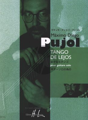 Pujol Tango de Lejos pour Guitare