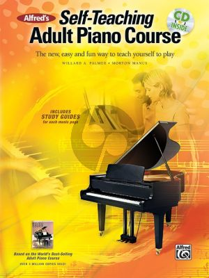Alfred's Self-Teaching Adult Piano Course (The new, easy and fun way to teach yourself to play) (Bk-Cd)