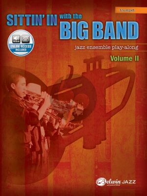 Album Sittin' In with the Big Band Vol. 2 for Trumpet Book with Audio Online