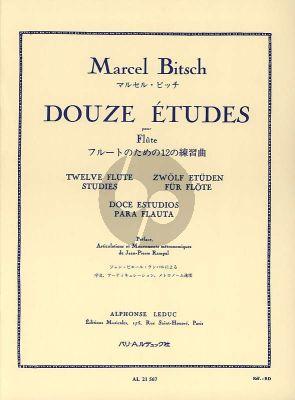 Bitsch 12 Etudes Flute