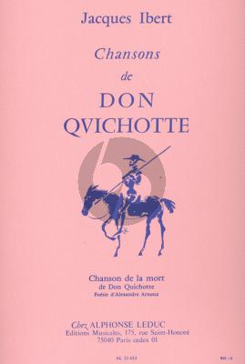 Ibert Chansons de Don Quichotte No.4 Chanson de la Mort