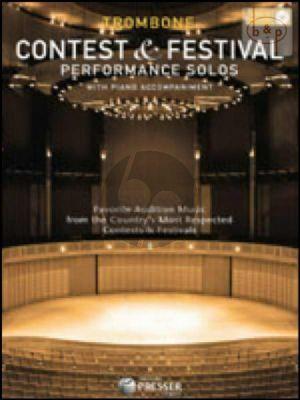 Contest & Festival Performance Solos for Trombone-Piano