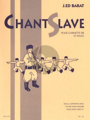 Barat Chant Slave Clarinette-Piano