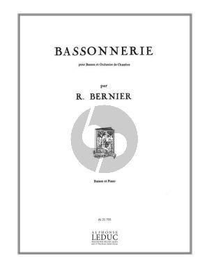 Bernier Bassonnerie pour Basson et Piano