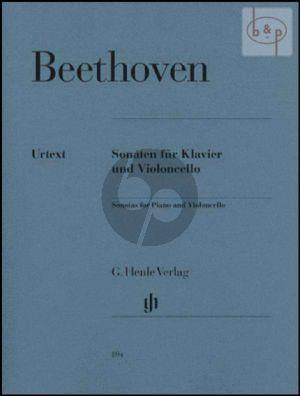 Sonaten Violoncello und Klavier