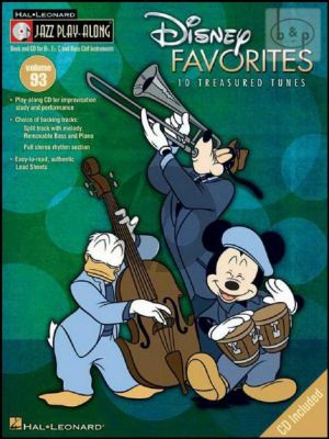 Disney Favourites (Jazz Playalong Series Vol.93)