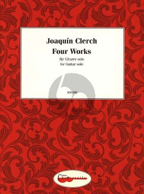 Clerch 4 Works for Guitar (interm.)