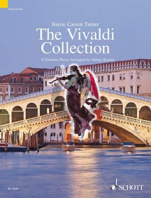 The Vivaldi Collection (8 Timeless Pieces) 2 Vi.-Va.-Vc.