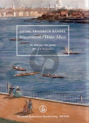Handel Wassermusik (Water Music) Klavier (HWV 348 - 350) (arr. Stephan Blat & Michael Pacholke)