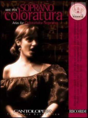 Arias for Coloratura Soprano Vol.2 (Voice-Piano)