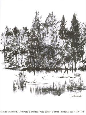 Messiaen Catalogue d'Oiseaux Vol. 5 pour Piano