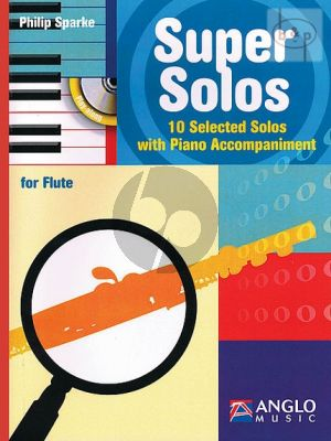 Super Solos (10 Selected Solos) (Flute-Piano)