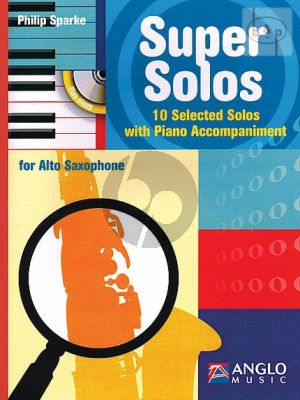 Super Solos (10 Selected Solos)(Alto Sax.-Piano)