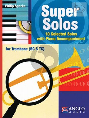 Super Solos (10 Selected Solos) (Trombone [TC/BC]-Piano)