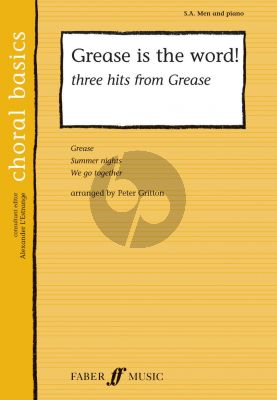 Grease is the Word! (3 Hits) (SA-Men-Piano) (arr. Peter Gritton)