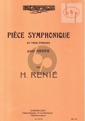 Piece Symphonique en trois Episodes Harpe