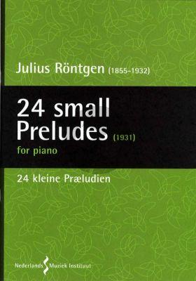Rontgen 24 Small Preludes 1931 Piano