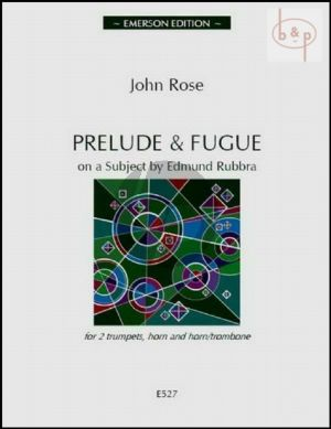 Prelude & Fugue on a Subject by Edmund Rubbra